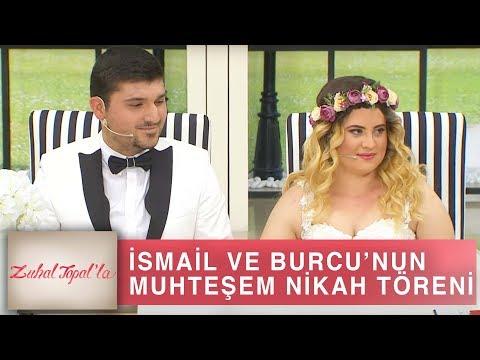 Zuhal Topal'la 200. Bölüm (HD) | İsmail ve İlk Aşkı Burcu Zuhal Topal'la Programında Evlendi