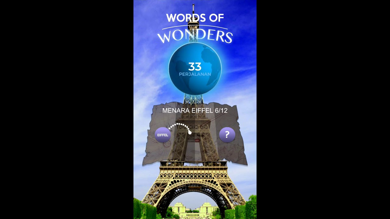 Kunci Jawaban Menara Eiffel Words Of Wonders Youtube