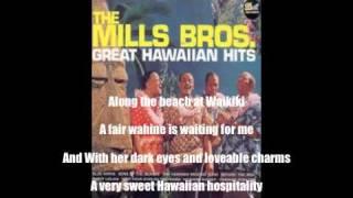 Mills Brothers Hawaiian Hospitality