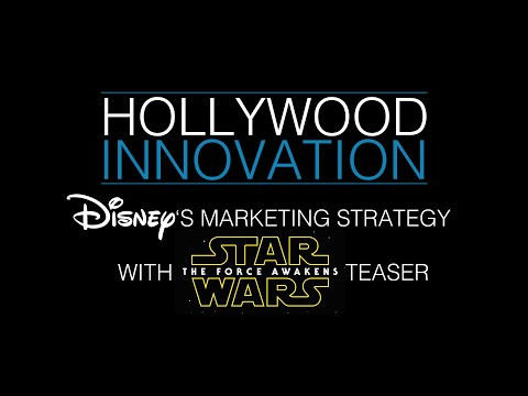 Hollywood Innovation - Disney's Strategy with Star Wars teaser