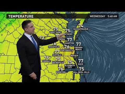 13News Now Daybreak Weather Forecast, 10/11/17