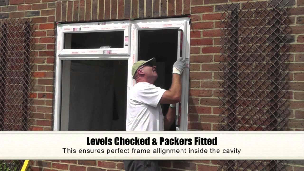 Upvc double glazing window installation youtube solutioingenieria Image collections