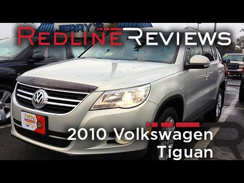 2010 Volkswagen Tiguan Review, Walkaround, Exhaust, Test Drive