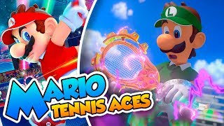 Mario Tennis Aces Gameplay