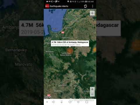 Ambanja, Madagascar Earthquake May 23rd, 2019