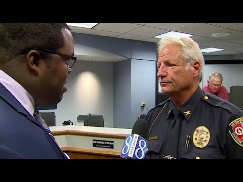 Muskegon Chief Jeff Lewis on officer-KKK investigation