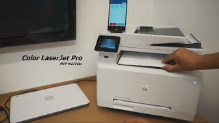 hP Printer - Color LaserJet Pro MFP M277dw Review