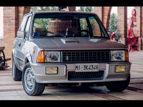 Mini De Tomaso Turbo - Davide Cironi Drive Experience (ENG.SUBS)