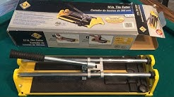 How To Replace The Blade On A Tile Cutter