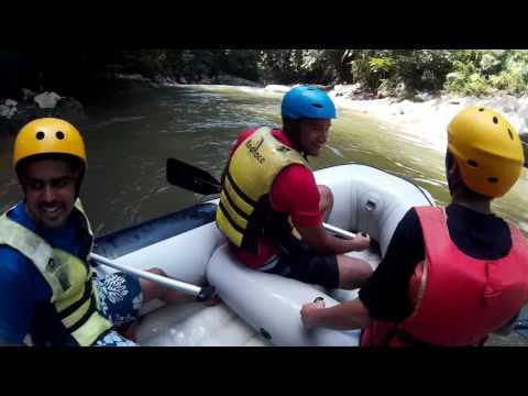 White Water Rafting @ Gua Tempurung,Perak