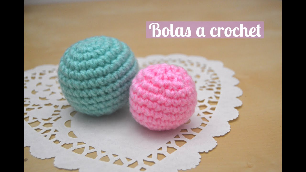Bola a crochet (Fácil) - YouTube