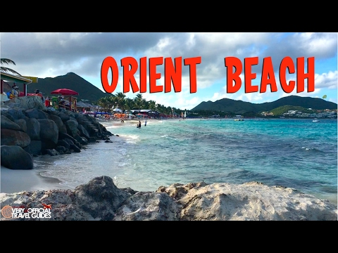 Orient Beach, St  Maarten Cruise Destination