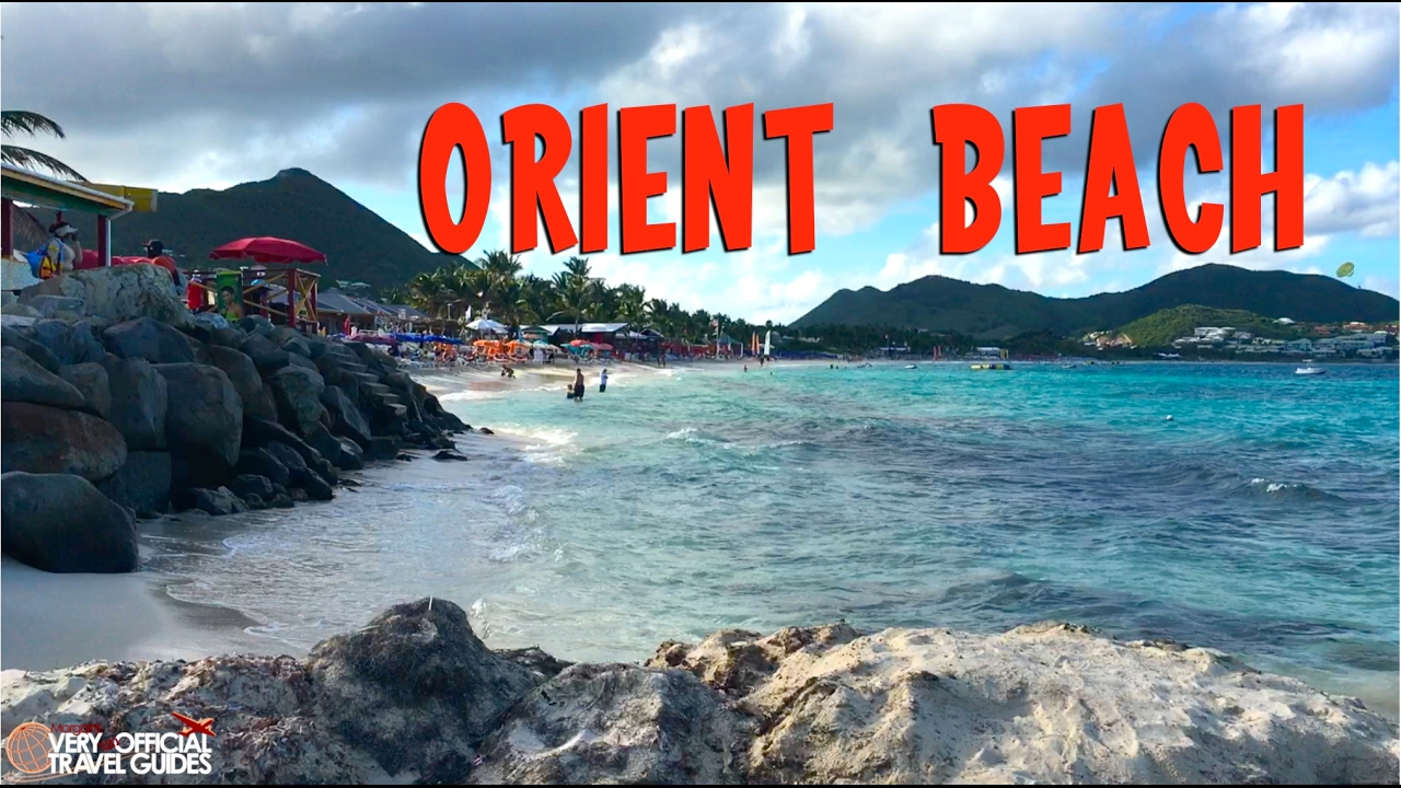 Orient Beach St Maarten Cruise Destination
