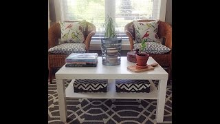 Make A Barnwood Coffee Table Ikea