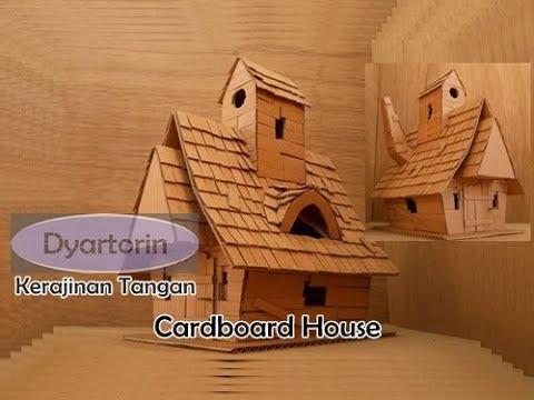 Rumah Nenek Sihir Cara Buat Rumah Dari Kardus Bekas Kreasi