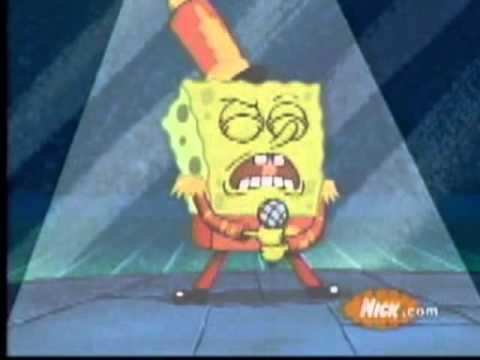 Spongebob singing Sexy and i know it!!
