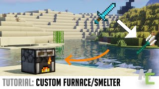 MCreator Tutorial: Create Your own Smelting Machine