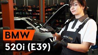 Монтаж на заден ляв десен Държач Спирачен Апарат на BMW 5 (E39): безплатно видео