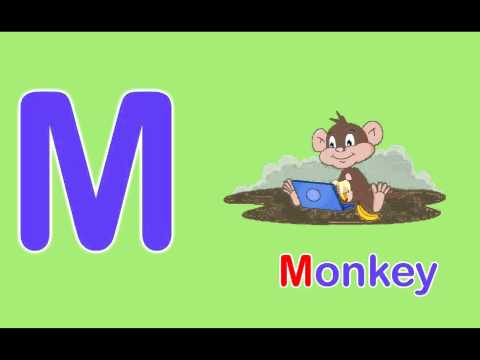 Toddler Words Words Starting With M Youtube