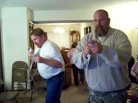 Brett & Mike Playing The Wii Boxing.mov