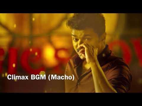 Mersal BGM - Climax BGM (Macho)   Vijay, S. J. Surya   A. R. Rahman