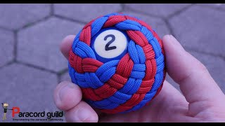 Barber's pole knot- pool ball example
