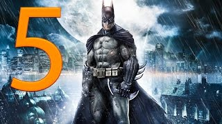 Batman Arkham Asylum Walkthrough Part 5 No Commentary 1080p HD