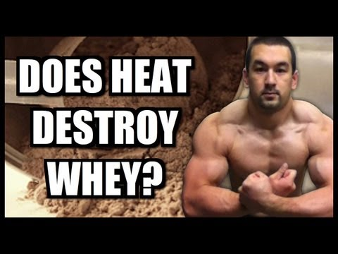 Cooking With Protein Powder: Does Heat Destroy Whey?