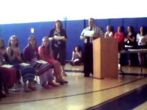 Somersworth NH Idlehurst Elementary School 5th grade Graduatton 06 12 2015