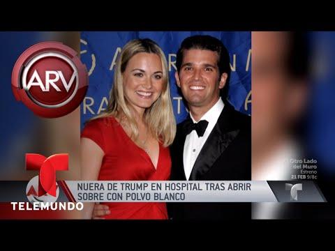 Nuera de Trump hospitalizada tras abrir un sobre extraño | Al Rojo Vivo | Telemundo
