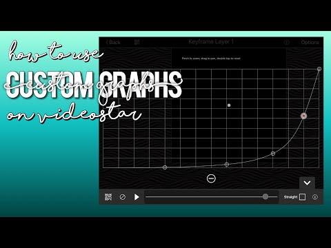 HOW TO DO CUSTOM GRAPHS ON VIDEOSTAR ✨ ixnfinitxy