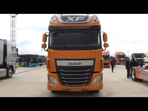 DAF XF 510 Super Space Cab Exterior and Interior in 3D 4K UHD