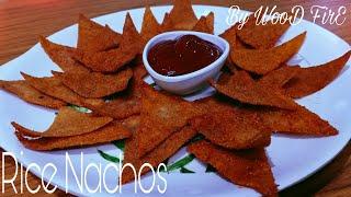 NACHOS RECIPE USING RICE FLOUR  How to make Tortilla Chips  HOMEMADE DORITOS CHIPS RECIPE