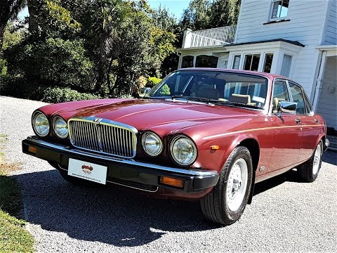 1985 Jaguar Sovereign Series 3 - Waimak Classic Cars - New Zealand