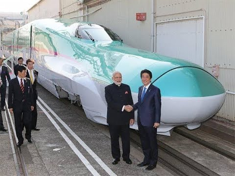 Japan helps to ready India's first bullet train, edging out China