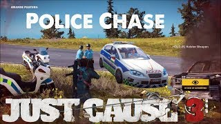 Gambar cover Awesome Police Chase Getaway - Just Cause 3