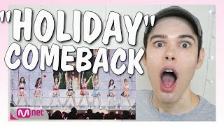 "Video LIVE Reaction I SNSD ""Holiday"" COMEBACK STAGE download MP3, 3GP, MP4, WEBM, AVI, FLV November 2017"