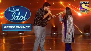 'Jaane Ja Dhoondta Phir Raha' पे इस Duo ने मचाया Stage पे धमाल | Indian Idol Season 12
