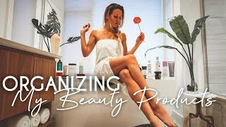 Bathroom Cleaning OVERHAUL | Organizing my Beauty Products