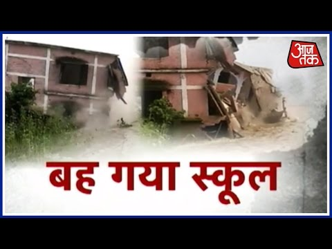 Monsoon Rains Causes Floods and Landslides In Bihar