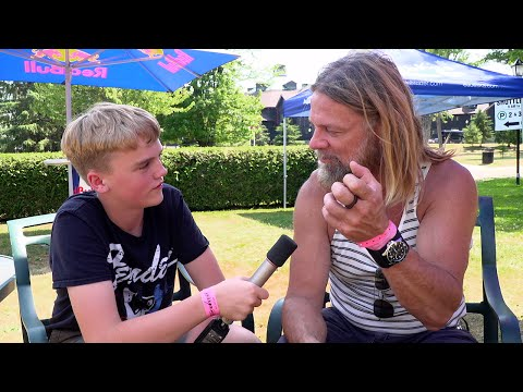 Legendary COC Guitarist/Vocalist Pepper Keenan Chats Up Young Video Journalist