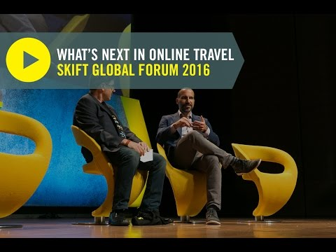 Expedia CEO Dara Khosrowshahi at Skift Global Forum 2016