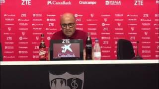 Sampaoli, el Atlético de Madrid, el liderato y la adaptación del Sevilla a su sistema