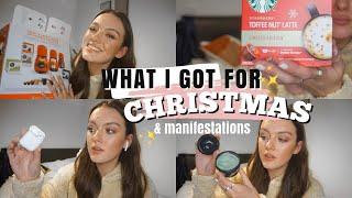 WHAT I GOT FOR CHRISTMAS & 2021 MANIFESTATIONS   Ames Banks