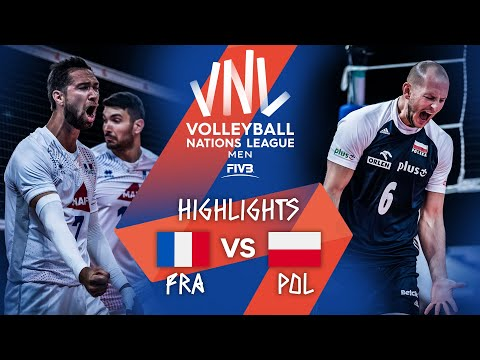 Download France vs. Poland - FIVB Volleyball Nations League - Men - Match Highlights, 23/06/2021