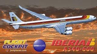 IBERIA A340-600 Mexico City