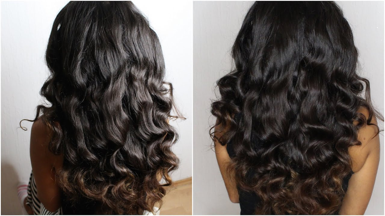 Long Lasting Loose Waves | gkhairmakeup - YouTube