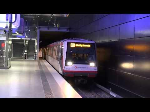 U-Bahn Hamburg - die neue Linie U4 [1080p]