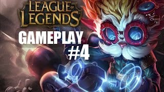 .: League Of Legends Gameplay #4 - Heimerdinger AP Mid, Tower can carry ? Maybe... :.