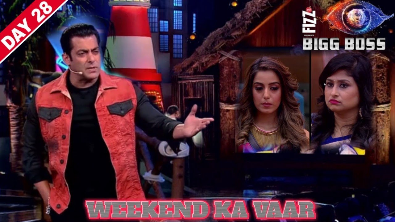 Salman Khan angry on Srishtey and Saba Khan | Bigg Boss 12 Weekend Ka Vaar
